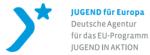 Logo von Jugend für Europa mit Link zur ihrer Seite